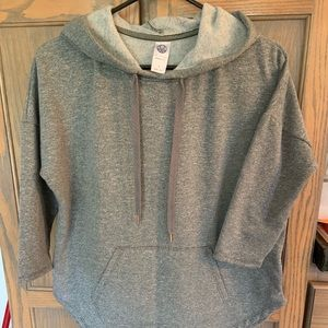 Tops - Soft hoodie size small👻grey